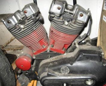 Rebuilt 1982 Harley Davidson Ironhead Sportster Engine