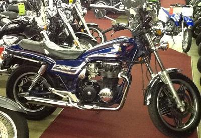 Blue 1982 Honda Nighthawk 650 (example only)