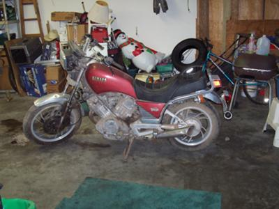 1982 Yamaha Virago XV920 Parts Motorcycle