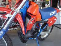 red 1983 honda cr250r cr 250r cr 250