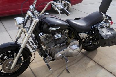 1983 Harley Davidson FXR Shovelhead motorcycle (example only; please contact seller for pics)