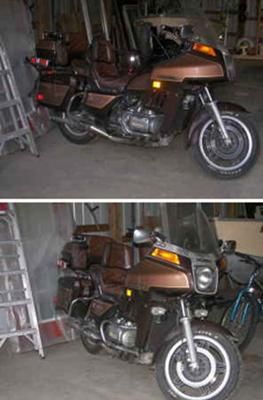1983 GL:1100 1100 Honda Goldwing (NOT the Goldwing for sale in this ad)