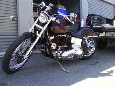 1983 Harley Lowrider Modified FXSB Custom Harley Davidson