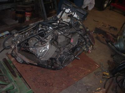 1983 Honda ASCOT Motorcycle MOTOR and  PARTS FOR SALE