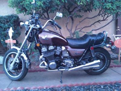 1983 Honda CB1000 Motorcycle