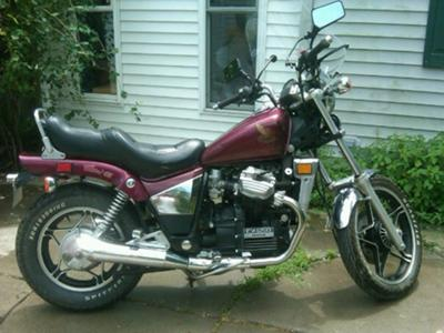 1983 Honda CX650 Custom (example only; please email seller for pics)
