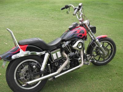 1983 Harley Davidson Shovelhead FXSB Lowrider (Custom) Motorcycle