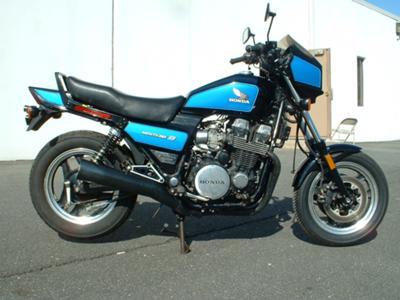 Blue 1984 Honda BC 700 SC Nighthawk S
