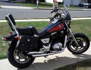 1985 Honda Shadow 1100 The First Big Twin