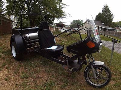 Custom built 1985 VW Trike 1600 Dual Port Motorcycle