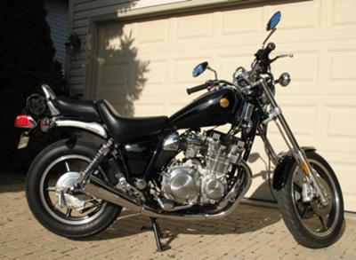 1985 Yamaha Maxim  XJ700N