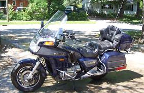 1986 honda goldwing Aspencade 1200 blue