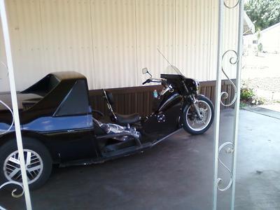 1986 Pont Trike Motorcycle