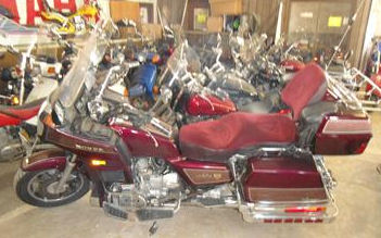 1987 Honda Goldwing Aspencade GL1200 with red paint color option