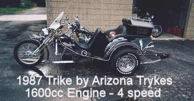 Custom 1987 Trike by Arizona Trykes