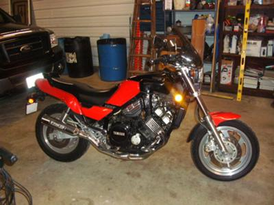 1987 Yamaha Fazer Motorcycle