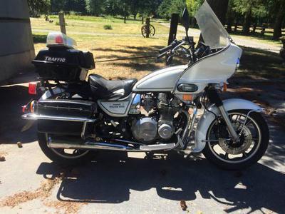 1988 Kawasaki KZ1000 Police Motorcycle