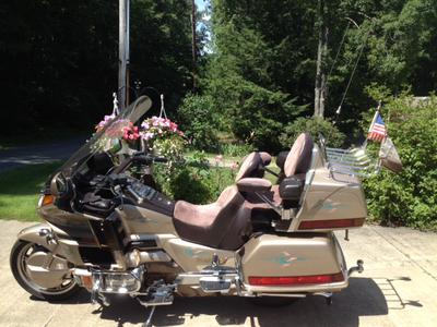 1989 GoldWing 1500cc with Dart Trailer for Sale in Clymer, PA,  PennsylvaniaUSA