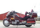 1989 Honda Goldwing GL 1500 burgundy red touring gl1500