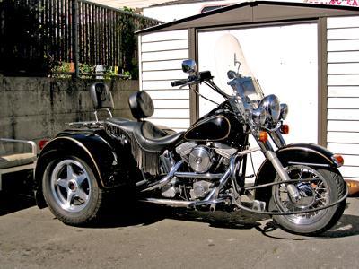 1989 Heritage Softail Harley Davidson w  2001 Lehman Trike kit