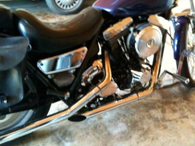 1989 Harley Davidson Low Rider Engine and Exhaust (example only)