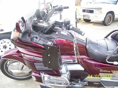 honda goldwing  motorcycle trailer  sale lots  extras check  specs