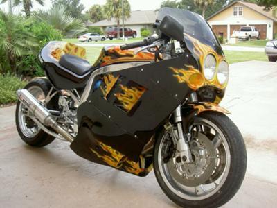Suzuki 1100 Jegster Racing Bike