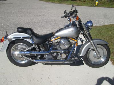 1990 Harley Davidson Gray Ghost Fatboy for Sale in FL Florida by Owner