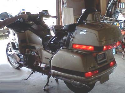 1991 Honda Goldwing Interstate w Gold Paint Color