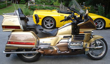 Gold 1991 Honda Goldwing GL1500 SE Reverse 1991 Honda Goldwing GL1500