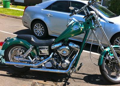 1992 Harley Davidson Dyna Wide Glide Converted to Custom Chopper.