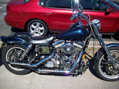 sweet 1992 Harley Dyna Custom