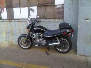 1992 Honda Nighthawk 750 (this photo is for example only; please contact seller for pics of the actual Honda Nighthawk for sale in this classified)