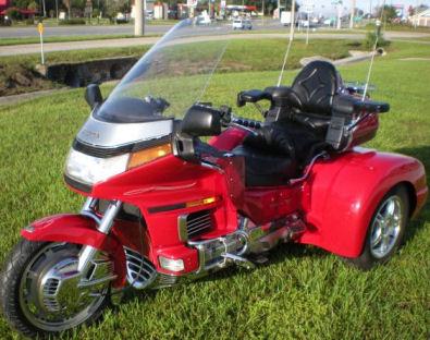 1993 Honda Goldwing GL1500 Champion Trike Conversion Kit w Red Paint Color