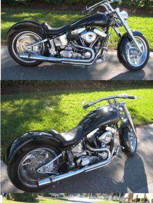 1993 HARLEY DAVIDSON SOFTAIL SPRINGER (this photo is for example only; please contact seller for pics of the actual motorcycle for sale in this classified)