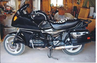 1994 BMW K 1100 touring motorcycle