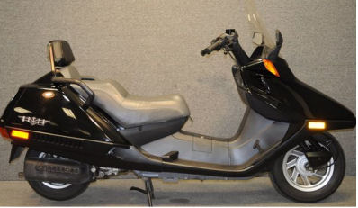 1994 Honda Helix Scooter (this photo is for example only; please contact seller for pics of the actual motor scooter for sale in this classified)