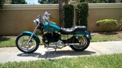 1995 Harley Davidson Sportster XL 883 for sale by owner original seat w/ serial numbers