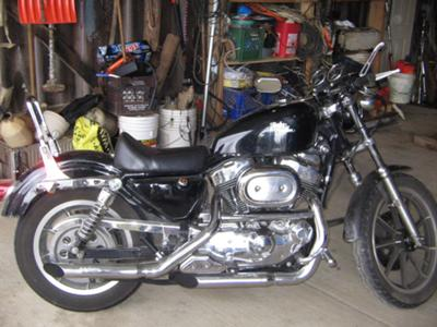 1995 Harley Sportster 1200 evolution