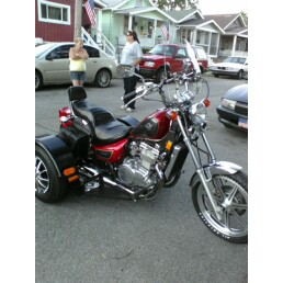 1995 Kawasaki Vulcan  500 trike motorcycle
