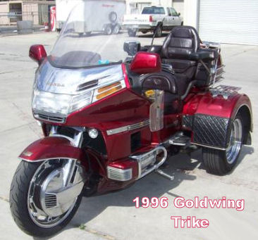 1996 goldwing trike nice honda motorcycle with three wheels. Black Bedroom Furniture Sets. Home Design Ideas