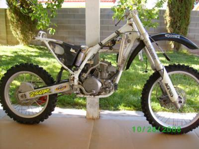 1996 Honda CR 250R Great Parts Bike