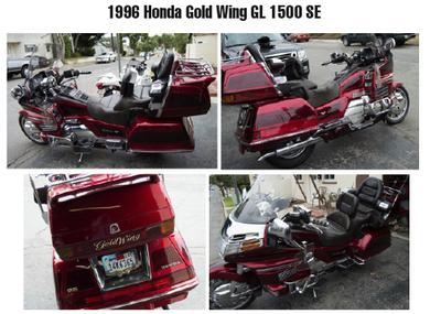 1996 Honda Gold Wing 1500SE for sale by owner in California CA