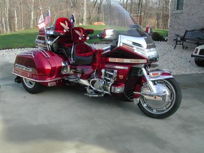 1996 HONDA GOLDWING SE TRIKE 1500 and Trailer