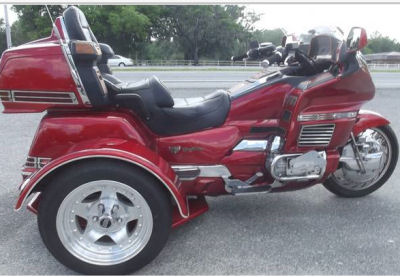 1996 Honda Goldwing Trike Motorcycle with New Trike Conversion Kit