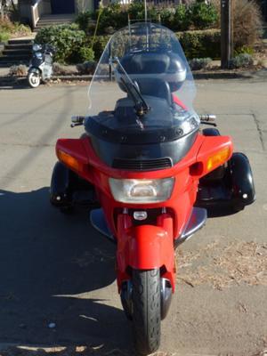 Customized, convertible 1996 Honda Pacific Coast Trike