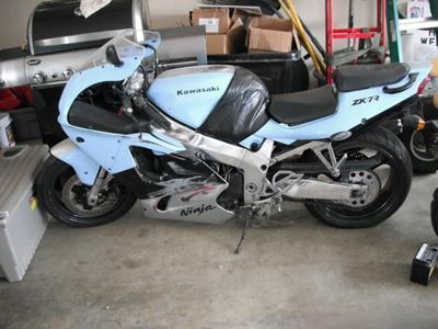 1996 Kawasaki Ninja ZX7R
