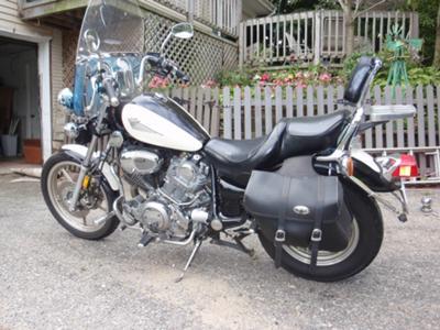 1996 yamaha virago 1100 for Yamaha virago 1100 saddlebags