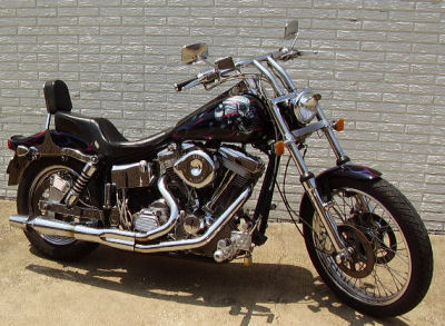 1997 Custom Big Dog Proglide Motorcycle w Award-Winning Paint Job 80 inch Evolution Motor with Edelbrock Heads