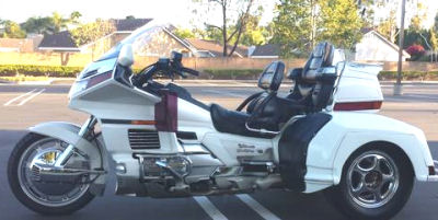 1997 Honda Goldwing trike white